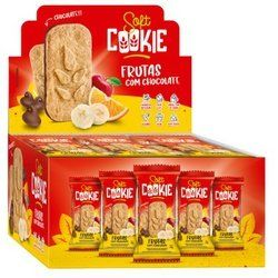 Cookie Softcookie 17g Frutas Chocolate